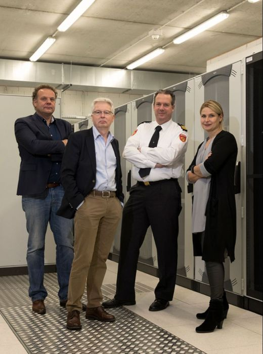 Ivo Kuijf, Ruud Wieringa, Hans Godding en Joyce Vreede.jpg