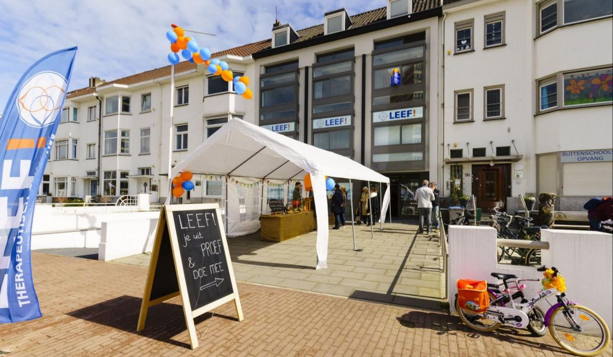 Ook therapeutisch centrum LEEF! opende zijn deuren voor het publiek. © Fred Berghmans