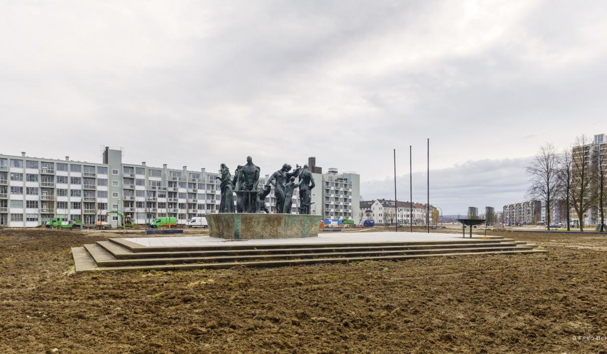 Nieuw stadspark Maastricht-Oost © Fred Berghmans