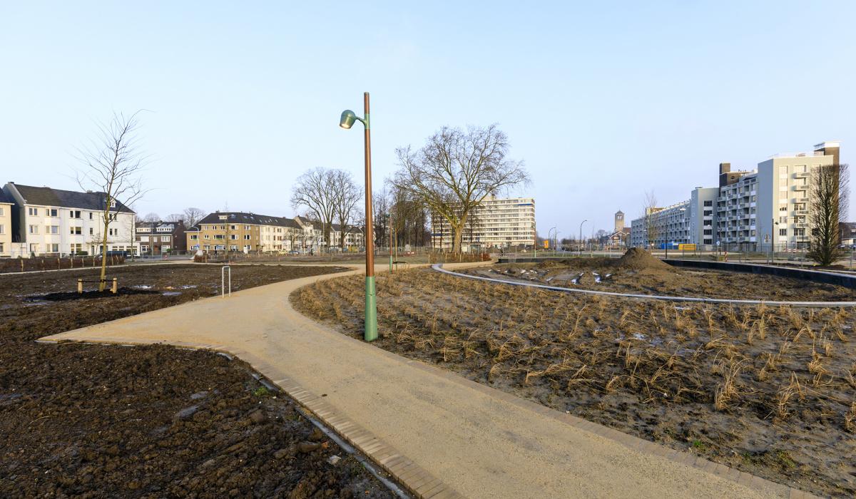 Nieuw stadspark Maastricht-Oost. © Fred Berghmans