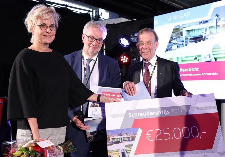 A2 Maastricht wint Schreudersprijs 2017.jpg
