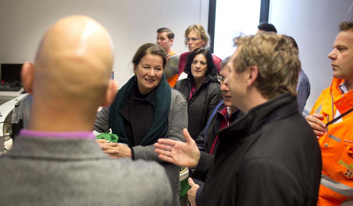 Ook burgemeester Annemarie Penn-te Strake nam deel aan de SIT. © Bert Janssen