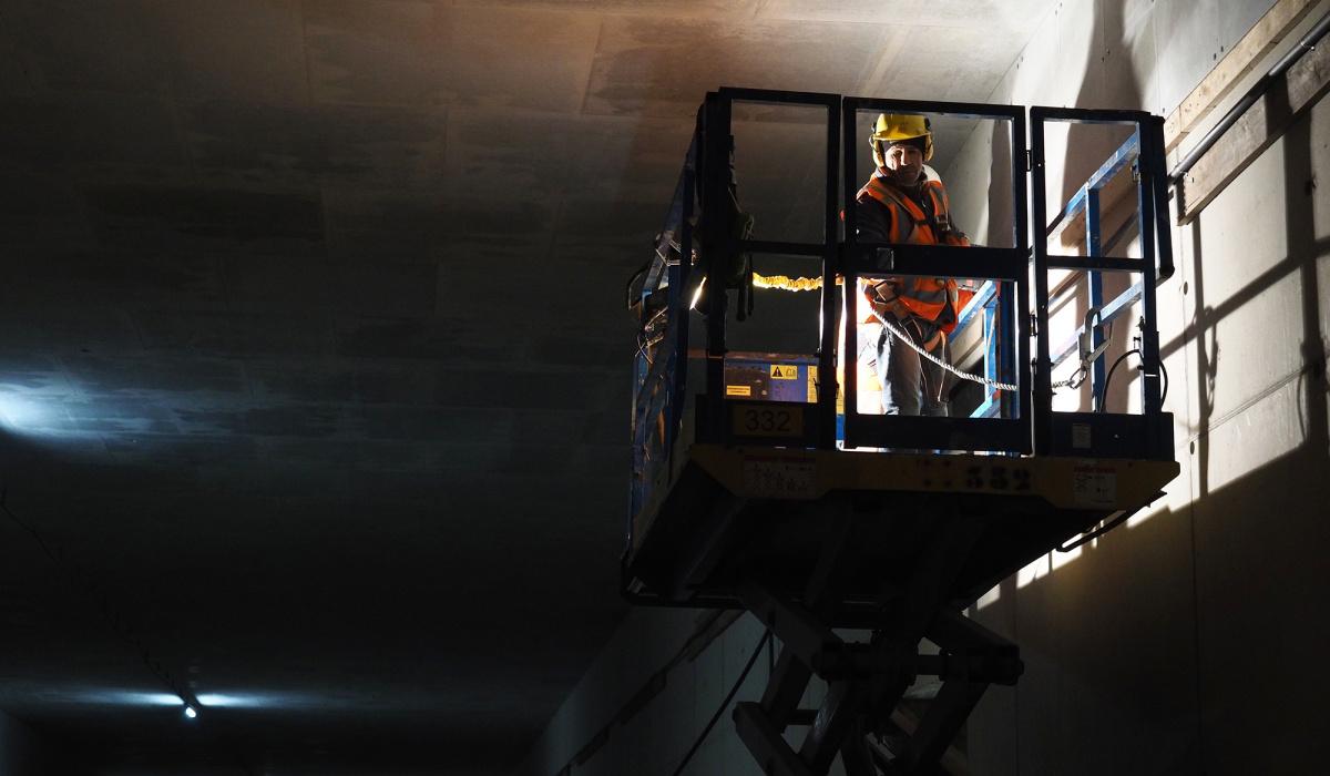 Afbouw van de Koning Willem-Alexandertunnel © Reen van Beek
